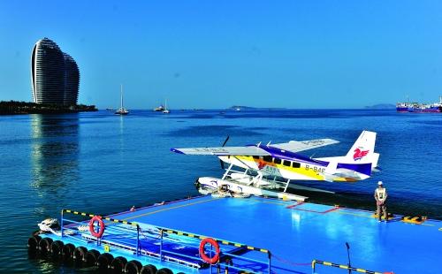 三亚:水上飞机启航 - 桂林日报社数字报刊平台