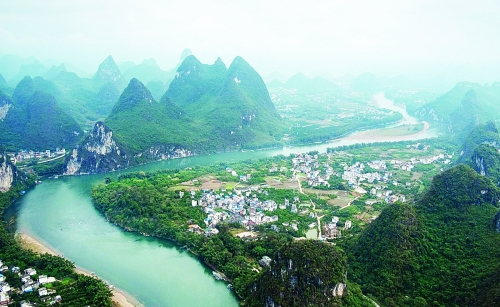 新兴河头镇风景