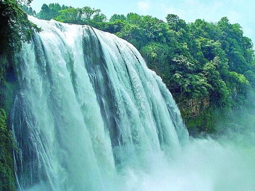 ▲贵州黄果树瀑布高清图片