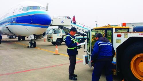 南航为春运航班提供优质地面保障服务