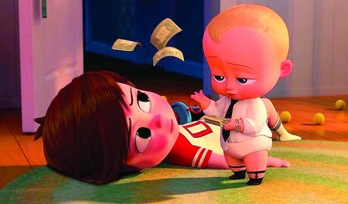 梦工厂动画新片《宝贝老板》登顶北美周末票房榜
