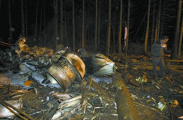 俄罗斯一小型飞机坠毁5人死亡