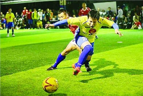 桂林五人制足球赛的 百科全书
