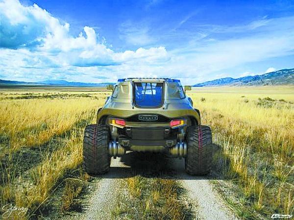 悍马hb紧凑型越野车