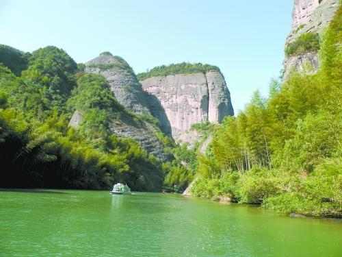 资江漂流,天门山景区,资源丹霞温泉是大