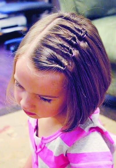 儿童辫子的编法图解,儿童辫子的编法图解图片信息,儿童辫子的编法图